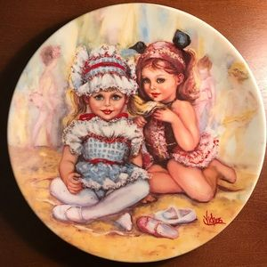 """""""The Recital"""" Mary Vickers Collectors Plate"""